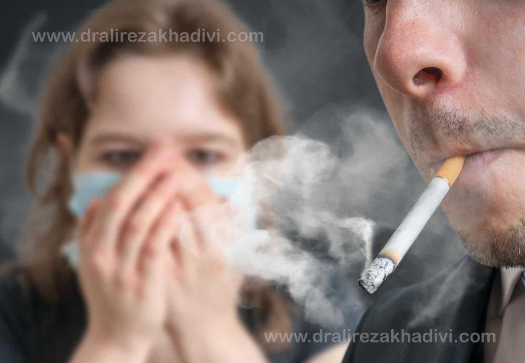 مراقبت از ارتودنسی سرامیکی با سیگار نکشیدن